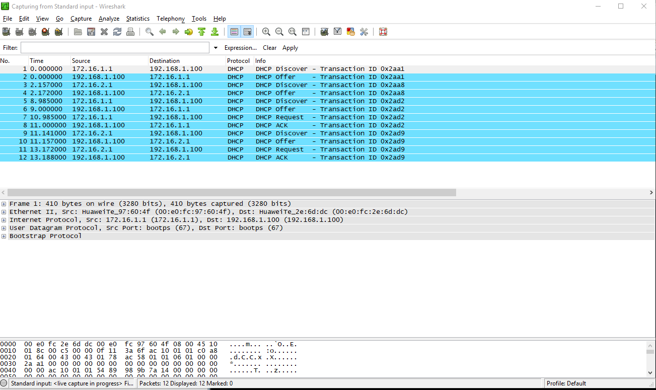 QinQ termination on subinterfaces to support DHCP Relay